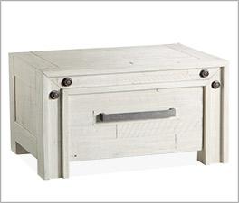 Nachttisch Caldera mit Stahlgriff