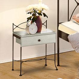 Nachttisch Ordino mit geräumigem Schubfach