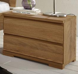 Moderner Massivholz-Nachttisch Rodari