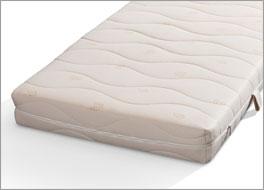 naturlatex matratze mit kba baumwoll bezug orthowell bio xxl. Black Bedroom Furniture Sets. Home Design Ideas