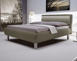 Das Polsterbett Aroa in modernem Design
