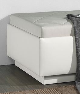 Moderne Relaxliege Eriko mit Sockel