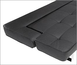 Schlafsofa Kidwelly als Sitzfläche mit hochwertigen Knöpfen