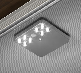 LED-Beleuchtung mit Bewegungsmelder für die Schrank-Innenausstattung