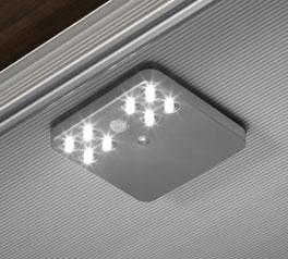 LED-Beleuchtung mit Bewegungsmelder als Schrank-Innenausstattung