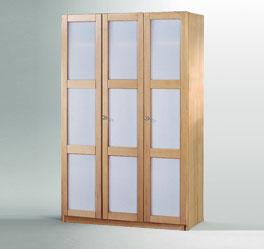 Schrank Mira mit moderner Glasfront