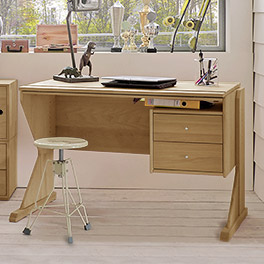 Schreibtisch Kids Fantasy mit zwei großen Schubladen