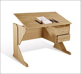 Schreibtisch Kids Fantasy mit verstellbarer Arbeitsplatte