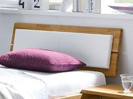 Kopfteil vom Schubkasten-Bett Leova mit schlichtem Design