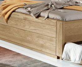Schubkasten-Doppelbett Toride mit geschlossenem Fußteil