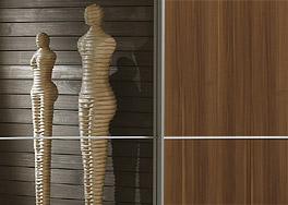 Großen Schwebetüren-Kleiderschrank Trinity mit viel Stauraum kaufen
