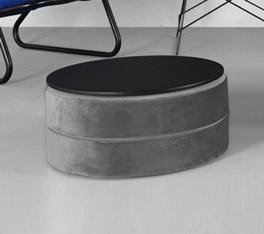 Sitzhocker für Schlafsofas mit optionaler Tischplatte