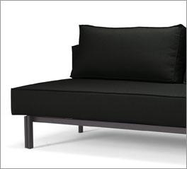 Sofa Ellwood bietet mit sienem bequemen Stoffbezug eine tolle Schlafgelegenheit