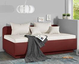 Moderne Sofaliege Eriko als Gästebett einsetzbar