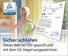 Stabile Kindermöbel mit GS-Siegel