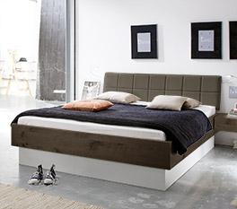 Stauraumbett Boneda mit praktischem Bettkasten