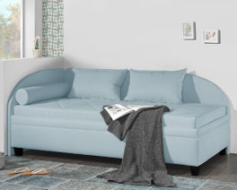Vielseitige Studioliege Kamina als bequemes Sofa nutzbar