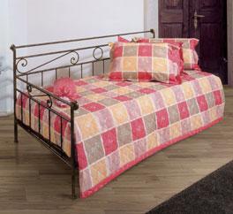 Tagesbett Plata aus handgeschmiedetem und lackiertem Eisen