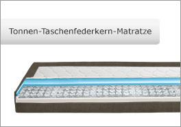 Tonnen-Taschenfederkern-Matratze für das Mauritius-System