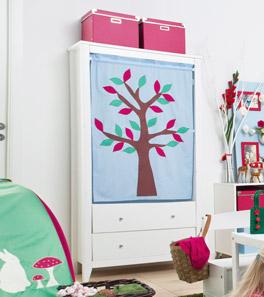 Vorhang-Kleiderschrank Kids Heaven mit waschbaren Vorhängen