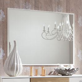 Hochwertiger Wandspiegel Koga mit Dekorrahmen
