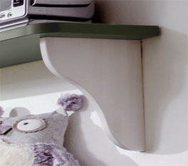 Design-Wandregal Laubhütte bei Betten.de