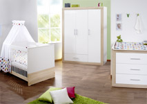 babyzimmer komplett g nstig mit m beln einrichten. Black Bedroom Furniture Sets. Home Design Ideas