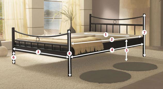 ma e bei betten bettma e richtig erkl rt bei. Black Bedroom Furniture Sets. Home Design Ideas