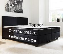 Boxspringbett aufbau  Infoseite über den besonderen Aufbau eines Boxspringbettes