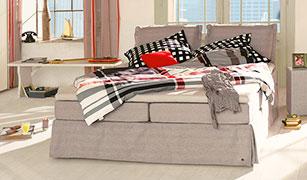 boxspringbetten in berl nge und bergr en auf. Black Bedroom Furniture Sets. Home Design Ideas