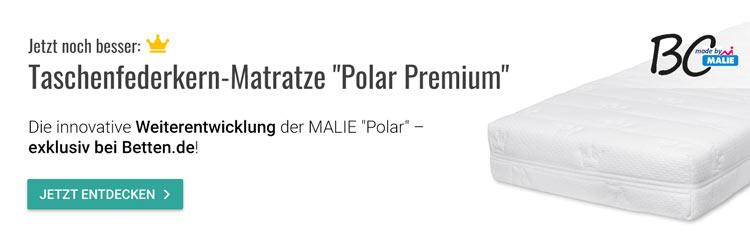 Testsieger Stiftung Warentest MALIE Matratze Polar