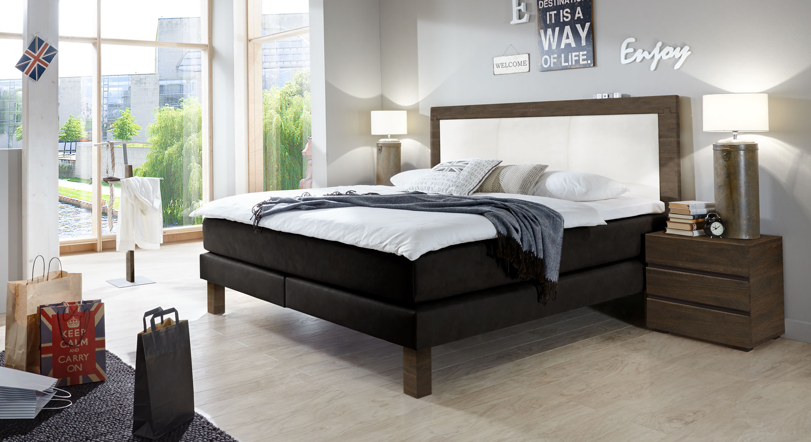 bett test optimiert. Black Bedroom Furniture Sets. Home Design Ideas