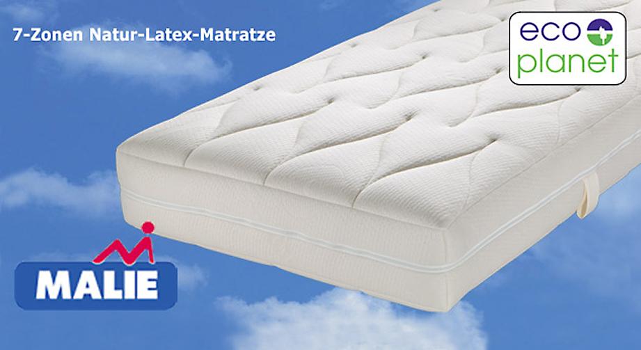 Latex-Matratze Pure Green NL 7 Zonen