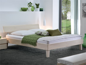 Einzelbett weiß holz  Rustikale Betten im Landhausstil hier kaufen | BETTEN.de