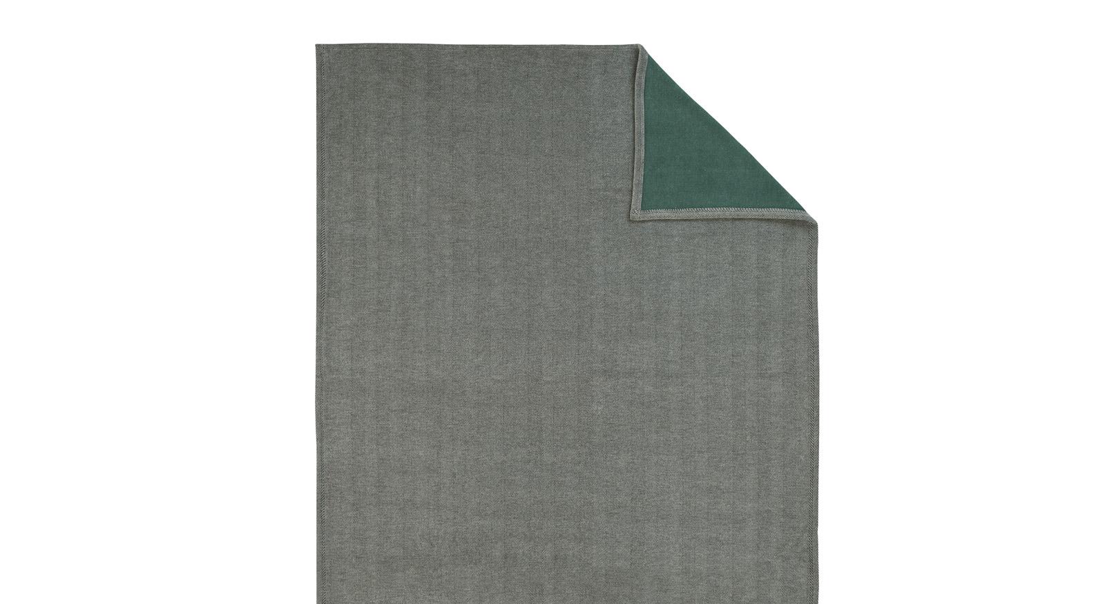 Kuscheldecke Switch in grau-aqua
