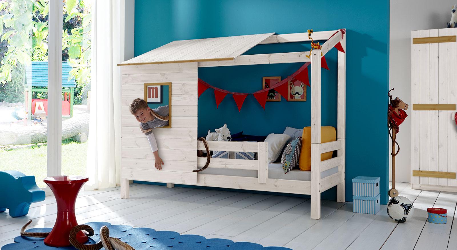 Abenteuerbett Kids Paradise für Jungen und Mädchen