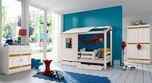 Abenteuerbett Kids Paradise mit Kinderzimmer-Zubehör kaufen
