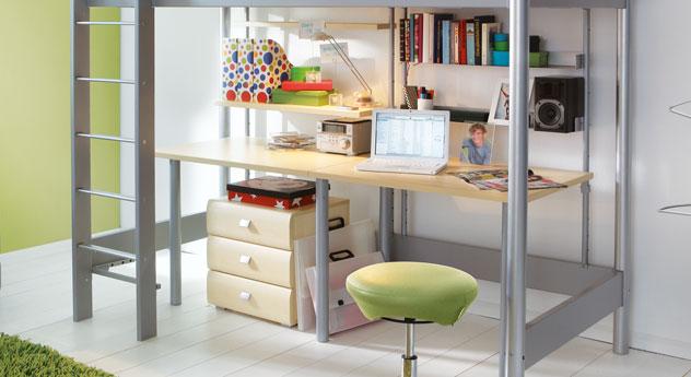 Schreibtisch Kim Anbautische