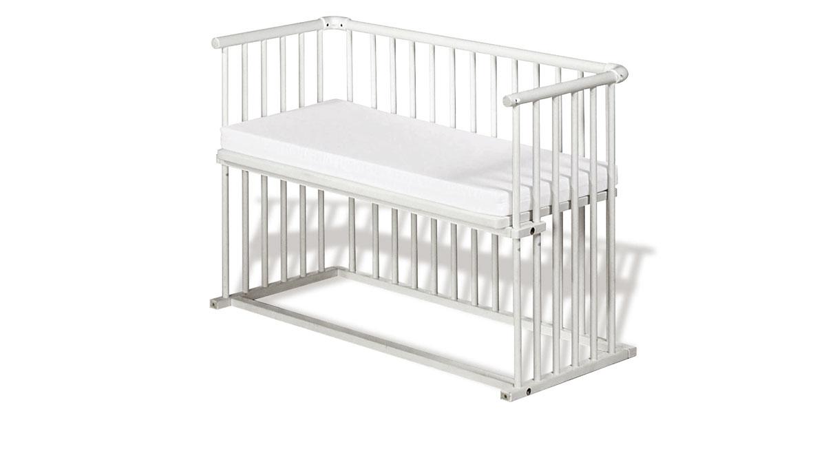 Anstellbettchen mit Matratze und Lattenrost - Bett Anja
