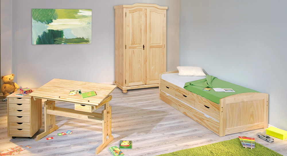 kinderbett zum ausziehen amazing bett zum ausziehen bett. Black Bedroom Furniture Sets. Home Design Ideas