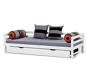 ausziehbett kids heaven fr kinder gnstig kaufen - Modernes Tagesbett Mit Ausziehbett