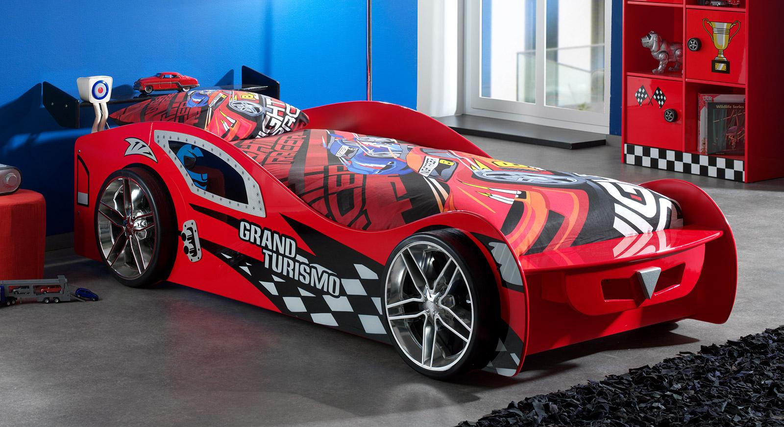 """Astounding Autobett Kinder Galerie Von Mit Dem Rot Lackierten """"hero"""" Ist Ihr"""