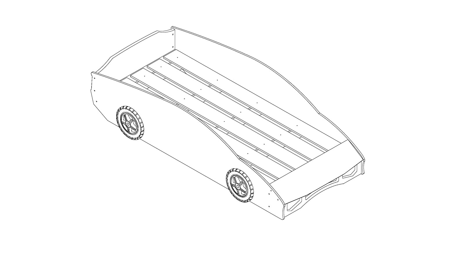 Lattenrostgrafik zum Autobett Match