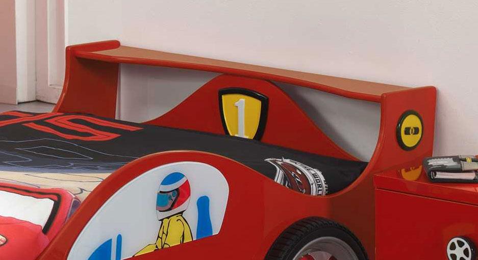 Heckspoler des Autobett Speedfighter ist als Ablage nutzbar