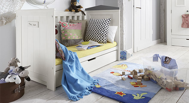 Praktisches Babybett Coastline umbaubar zum Juniorbett