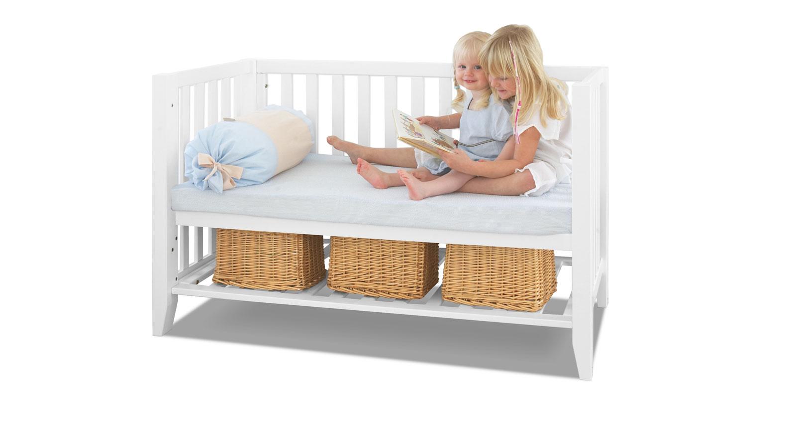Babybett Kids Heaven zur Bettbank umbaubar