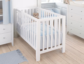 babybetten komplett g nstig auf rechnung kaufen. Black Bedroom Furniture Sets. Home Design Ideas