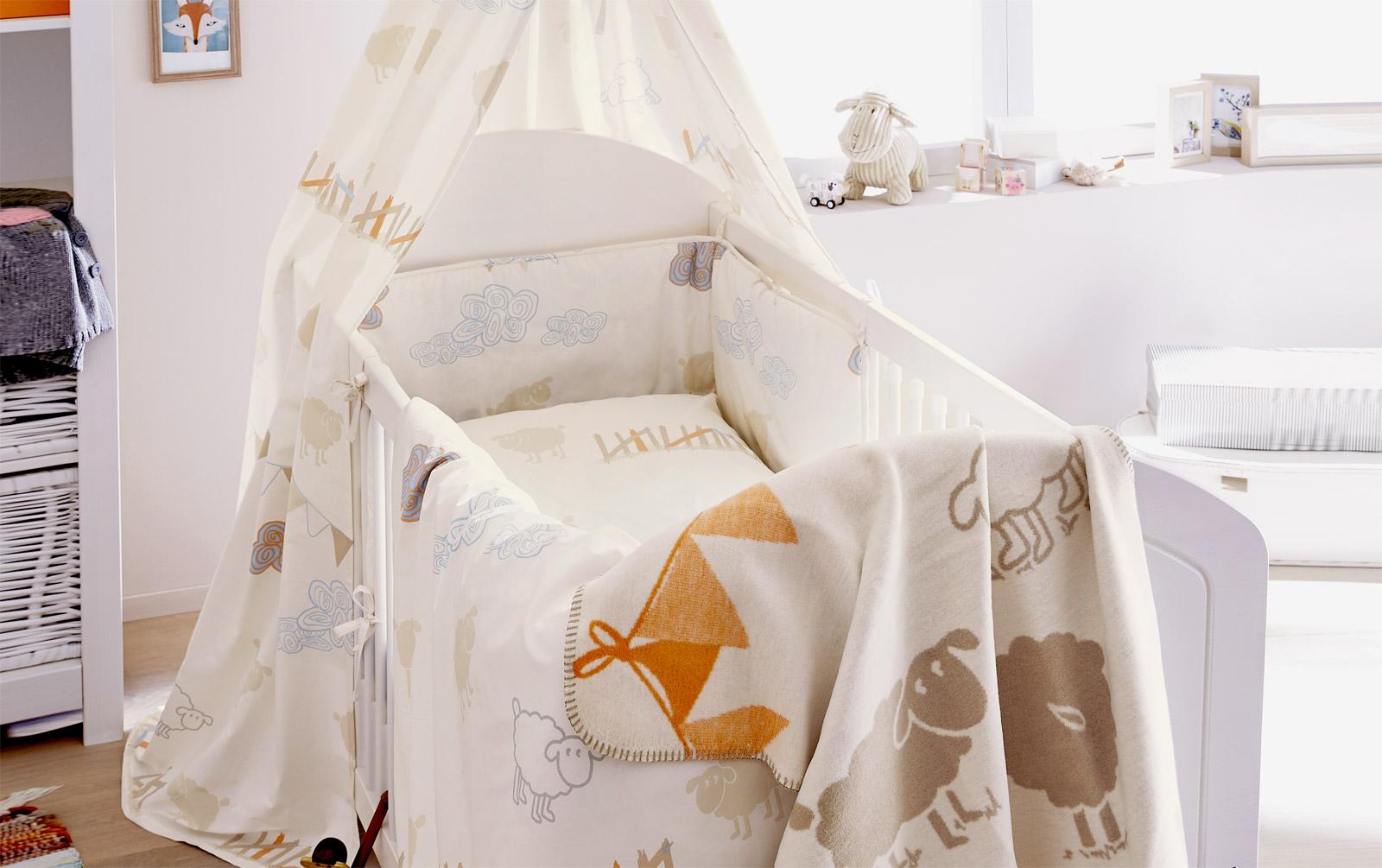 Babybett-Set s.Oliver Traumwelt mit dazu passenden Produkten
