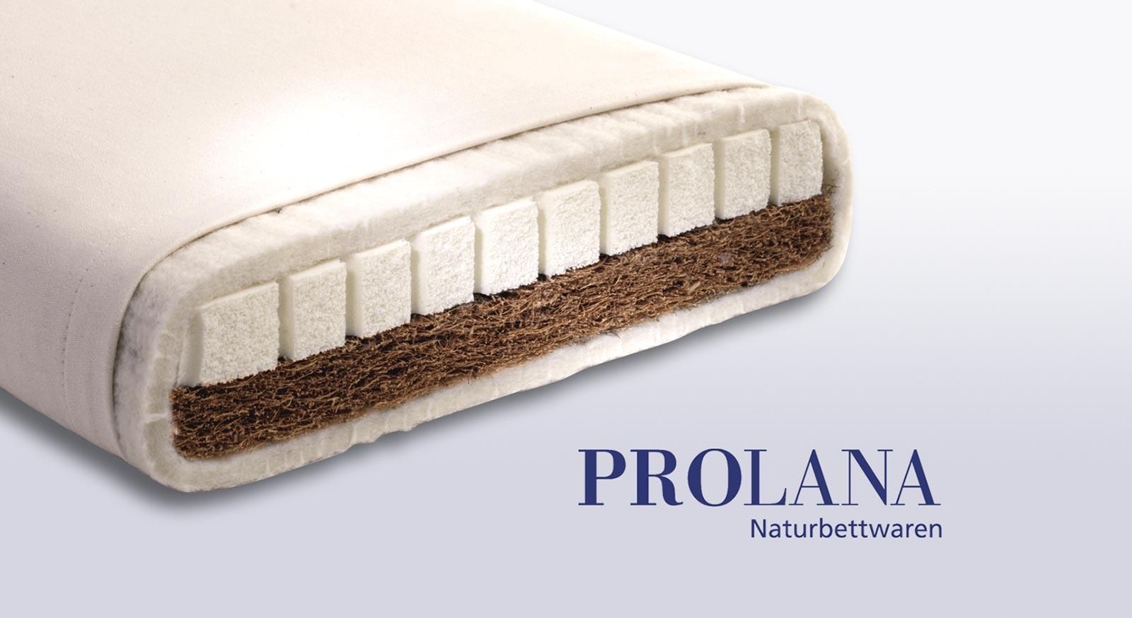 Naturmatratzen Von Prolana Aus Latex Und Kokos Mit Bio Bezug