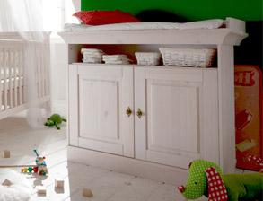 h henverstellbares babybett mit umbauset babys paradise. Black Bedroom Furniture Sets. Home Design Ideas